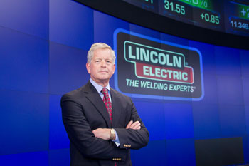 John Stropki, Lincoln Electric Chairman, President and CEO