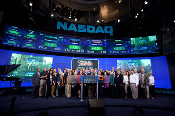 Lincoln Electric Celebrates 16 Years on the NASDAQ Exchange