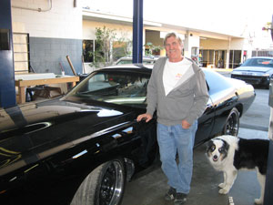 Picture Car Warehouse Owner, Ted Moser