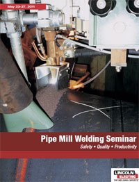 Pipe Mill Welding Seminar