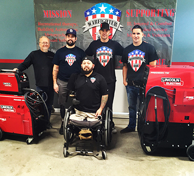 Lincoln Electric Donates Equipment to Help Warfighter Made Organization