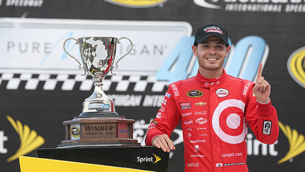 Kyle Larson's First Nascar Victory