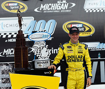 Matt Kenseth Wins NASCAR Pure Michigan 400