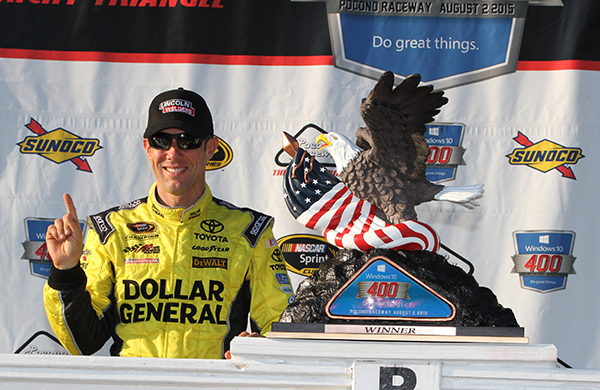 Kenseth Wins at Pocono