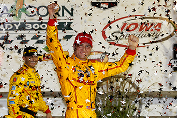 Ryan Hunter-Reay IndyCar Victory