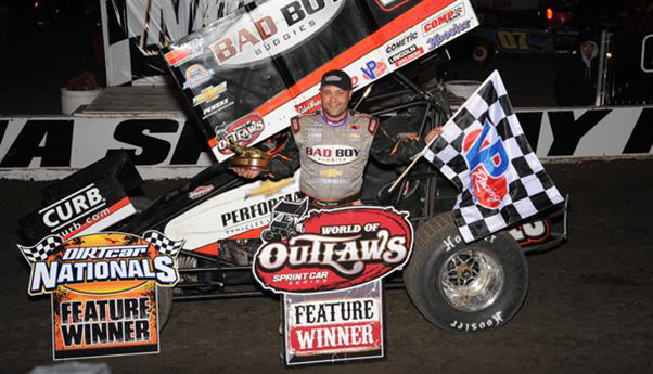 Donny Schatz Wins Second Race 2015