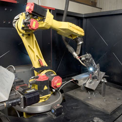 Automate Welding on Farm Equipment