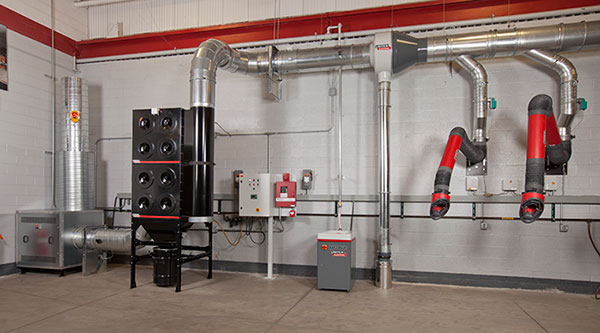 Prevent Fires in Welding Fume Extraction Systems