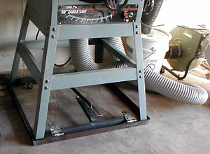 Table Saw Cart