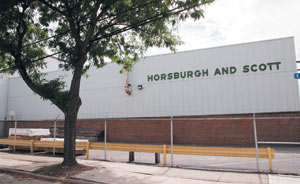 Horsburgh & Scott is a 120-year-old-company located in Cleveland, Ohio.