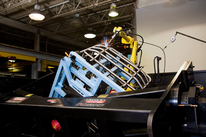 Robotic Welding NASCAR Roll Cage