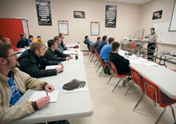 Six-hour classes include everything from basic welding and metal bending to building suspensions and engines from scratch.