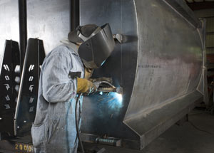 Welding is integral to Rogue Truck's success.