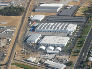 Siemens Mobility Division Aerial View