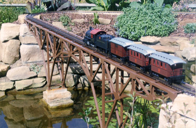 Garden Railroad Bridge