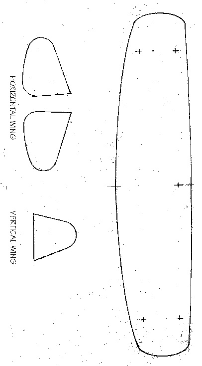 Build a biplane for Cut out airplane template