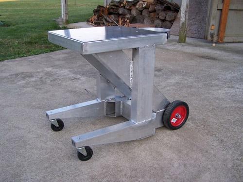 Aluminum Welder Cart