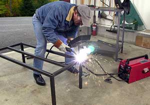 Welding a Coffee Table