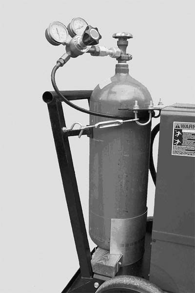 An Improved Gas Cylinder Clamping System