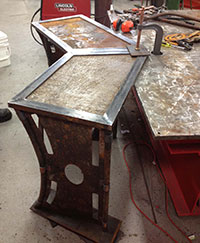 Welding Project: Corner Desk