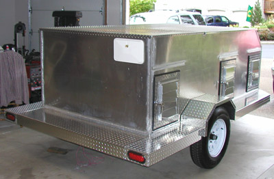 Hunting Dog Trailer