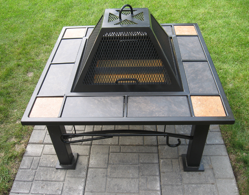 *The above project images and descriptions have been published to show how  individuals used their ingenuity for their own needs, convenience and  enjoyment. - Fire Pit