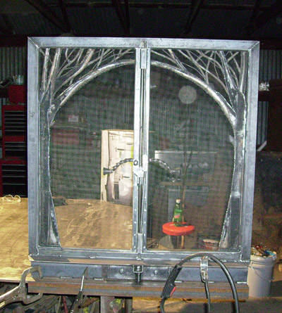 Lincoln Electric Mig Welder >> Ornamental Fireplace Doors