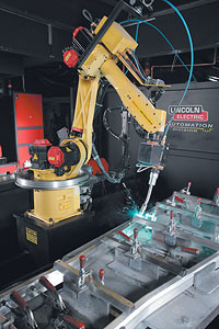 robotic welding circuit