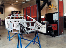 Aluminum Race Car Frame