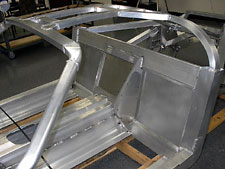 Aluminum Welded Car Frame