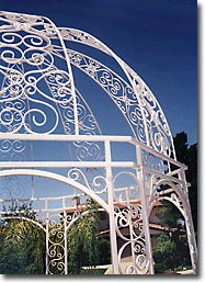 Romantic Gazebo - Ornamental Iron Project