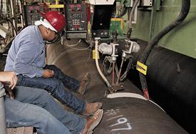 Gulf Marine Fabricators Increase Deposition Rates