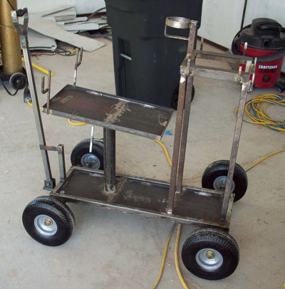 Heavy Duty Welder Cart