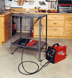Welding Table Designs excellent ideas welding table design chic compact workshop welding area How To Build A Metal Welding Table