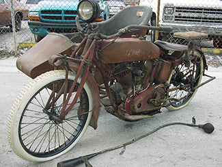 Antique Motorcycles and Motor Scooters