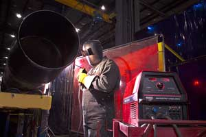 Lockerbie & Hole recently purchased 42 of Lincoln's Power Wave 455/STT units for welding its carbon, stainless steel and chrome