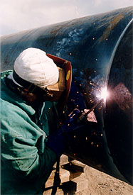 Pipe: Welding Methods to Improve Production of High Yield Pipe