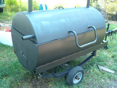 Homemade Pig Cooker