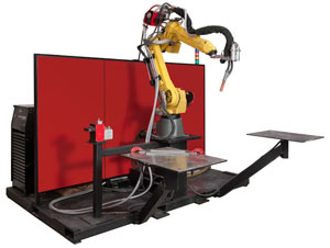 Robotic Subarc Welding Cell