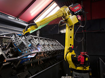 Robotic Welding Cell