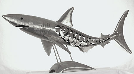 Shark Sculpture