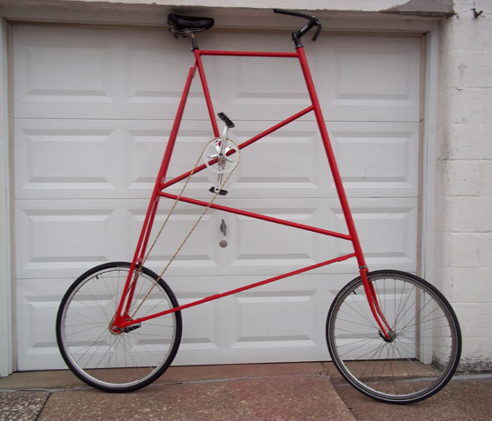Building a Tall  Bike