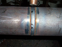 Example of Excellent Penetration with Lincoln Electric's STT Low Heat Process