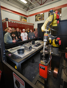 Training Workers on Robotic System