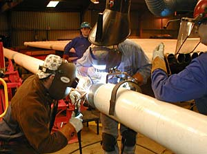 Pipe Welding In Ireland Lincoln Electric