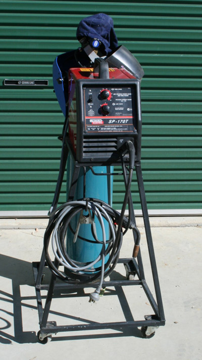 Lincoln Electric Mig Welder >> Work Bench and Welder Stand