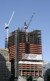 Seven World Trade Center is the first of the World Trade Center complex facilities to be rebuilt at the Ground Zero site.
