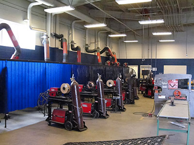 Enterprise High School Rebuilds Welding Program
