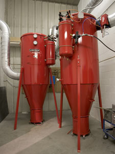 Eastern Wyoming installed a Lincoln X-Tractor 52 high-vac central fume extraction system in its new lab.