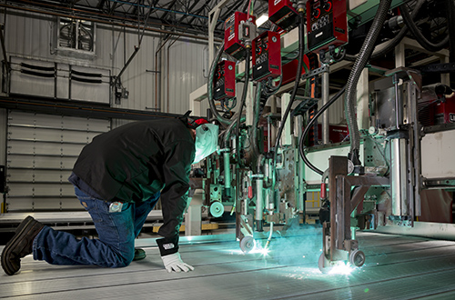 Best Practices to Weld Aluminum in the Trailer Industry